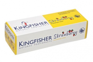 Kingfisher Natural Strawberry Flouride Free Toothpaste