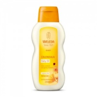 Weleda Calendula Baby Oil Cares Protects and Gently Cleanses