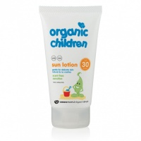 Organic Children Natural Scent Free Sun Lotion SPF 30