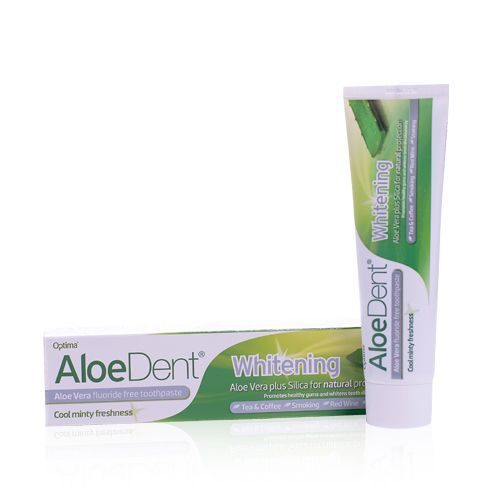 aloe dent toothpaste whitening natural eco friendly