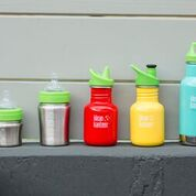 Klean Kanteen Reusable Kids Bottles and Straws