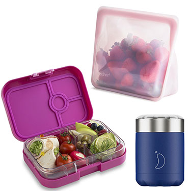 Reusable Lunchboxes Food Wraps and Storage