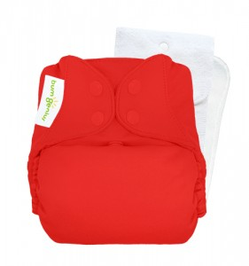 bumGenius V5 One-Size Stay-Dry Pocket Cloth Nappy Pepper