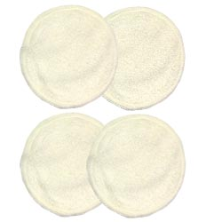 Beaming Baby Washable Extra Soft Nursing Breast Pads (2 pairs)