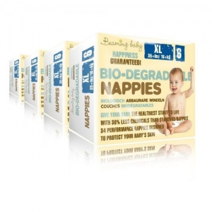 Beaming Baby Biodegradable Eco Nappies Bulk Buy and Save Size 6 XL