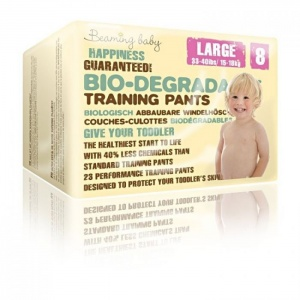 Beaming Baby Eco Training Pull Up Pants for Potty Training and Night time Size 8 (15-18 kg - 33-44 lb)