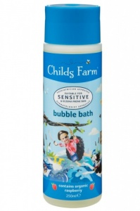 Childs Farm Bubble Bath for Sensitive Skin Organic Raspberry