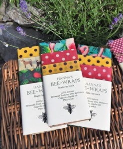 Hanna's Beeswax Wraps - Kitchen Pack - Large (3 Pack)