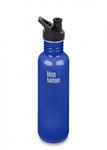 Klean Kanteen Classic Stainless Steel Reusable Water Bottle - 800ml / 27oz -  Coastal Waters