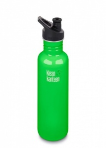 Klean Kanteen Classic Stainless Steel Reusable Water Bottle - 800ml / 27oz -  Spring Green