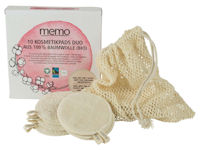 Memo Reusable Washable Make Up Remover Cleansing Pads