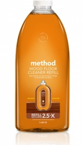 Method Squirt and Mop Non Toxic Wooden Floor Cleaner 2 Ltr Refill