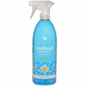 Method Antibacterial Bathroom Cleaner Water Mint
