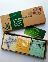 Palm Free Irish Handmade Soap Company - Gift Pack of 3 Mixed Soaps