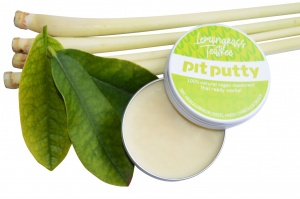 Pit Putty Aluminium Free Natural Deodorant  – Plastic free - Lemongrass and Tea Tree
