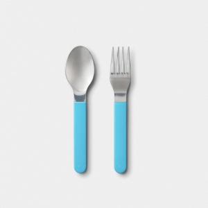 Planetbox Magnetic Fork and Spoon Utensils Set