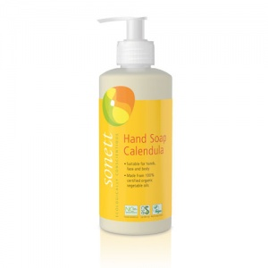Sonett Hand Soap Calendula - Alkaline Care for Hands, Face and Body 300ml