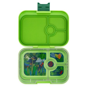 Yumbox 4 Compartment Panino Lunchbox Congo Green