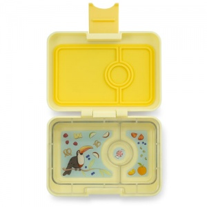 Yumbox Mini Lunch / Snack Box Sunburst Yellow
