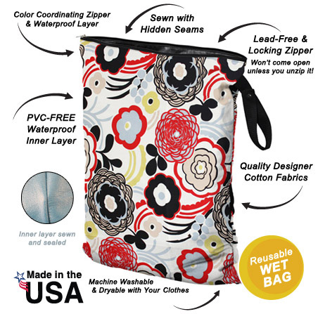 The Planetwise Wetbag Is A Funky And Practical Storage Bag Great For Storing Transporting