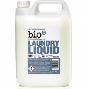 Bio D Concentrated Non Bio Laundry Liquid 5 Litre 125 Washes