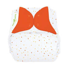 bumGenius Elemental Organic Cotton One-Size Cloth Nappy Sassy Dots