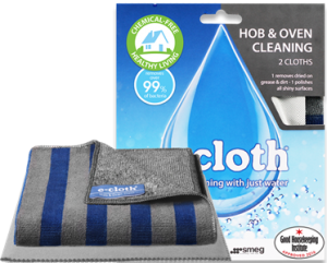 E Cloth Oven Cleaning Cloths x 2 - Tackles Stubborn Grime with Just Water