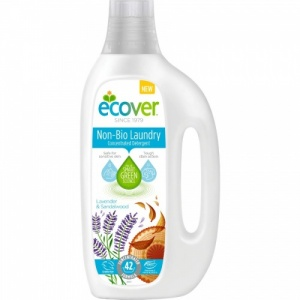 Ecover Non Bio Laundry Liquid 1.5 Ltr Concentrated - Lavender and Sandalwood 42 Washes