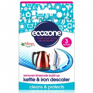 Ecozone Kettle and Iron Descaler - Removes Limescale Build Up Naturally