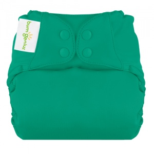 bumGenius New Elemental One-Size Cloth Nappy Hummingbird