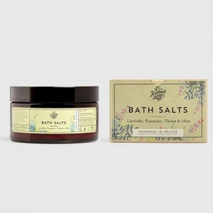 The Handmade Soap Company Bath Salts - Uplifting and Soothing Lavender Rosemary Thyme & Mint