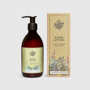 The Handmade Soap Company Hand Lotion - Uplifting and Soothing Lavender Rosemary Thyme & Mint