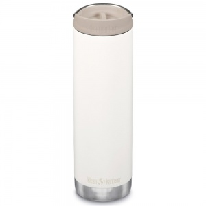 Klean Kanteen Insulated TK Wide - Perfect for Coffee or Cold Drinks On The Go 592ml/20oz Cafe Cap Tofu