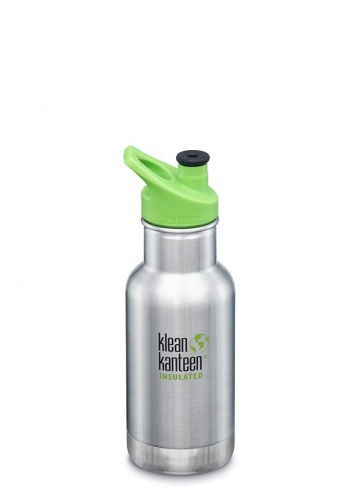 Klean Kanteen 12-Ounce Wide Insulated Stainless Steel Bottle with Loop Cap