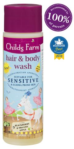 Childs Farm Hair And Body Wash For Sensitive Skin