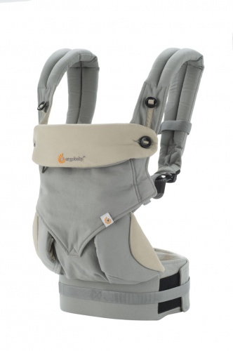 7400617806f Ergobaby 360 Four Position Baby Carrier Grey Earthmother.ie