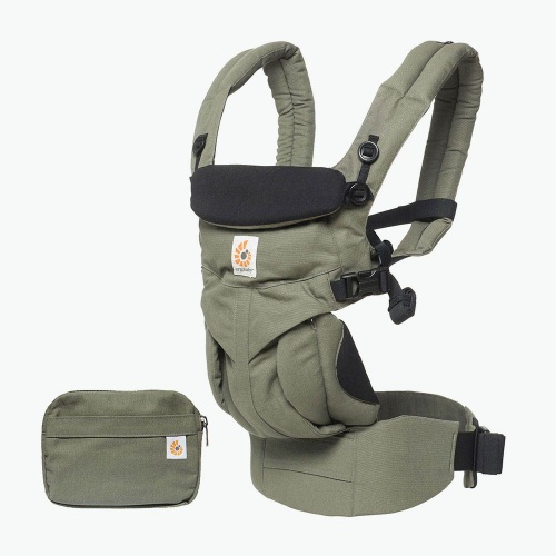 2e2fd7c6df0 Ergobaby Omni 360 4 Position Newborn to Toddler Baby Carrier Khaki ...