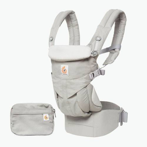 Ergobaby Omni 360 4 Position Newborn To Toddler Baby Carrier Pearl Grey