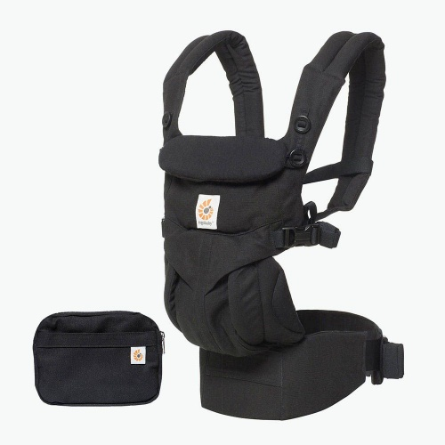 31cde48e65b Ergobaby Omni 360 4 Position Newborn to Toddler Baby Carrier Black ...