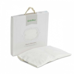 The Little Green Sheep Organic Jersey Fitted Sheet Cot Bed