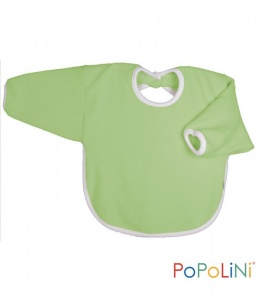 Iobio Organic Cotton Long Sleeved Bib Apple