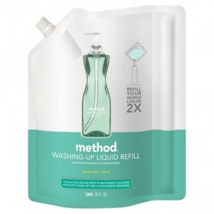 Method Washing Up Liquid with Powergreen Technology - Green Tea and Citrus Refill