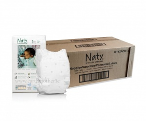Naty Nature Babycare Monthly Value Box Size 4 (15-40lbs/7-18kgs)