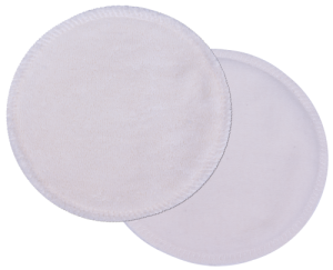 Popolini 100% Organic Cotton Reusable Nursing Pads - 6 pack (3 Pairs)