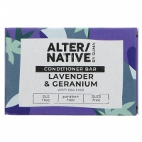 Alter/native Deeply Nourishing Hair Conditioner Bar - Zero Plastic - Lavender and Geranium