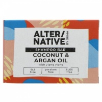 Alter/native Moisturising and Nourishing Shampoo Bar - Zero Plastic - Coconut and Argan Oil