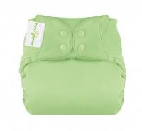 bumGenius New Elemental Organic Cotton One-Size Cloth Nappy Grasshopper