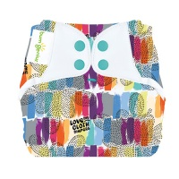 bumGenius New Elemental Organic Cotton One-Size Cloth Nappy Love
