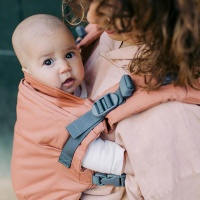 Boba X Baby Carrier - Newborn to Toddler in Comfort - Apricot