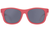 Babiators Navigator Sunglasses - Super Flexible Rubber Frames, 100% UV Protection - Rockin Red